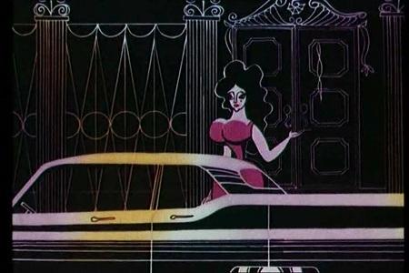 Кадр из мультфильма ограбление по
