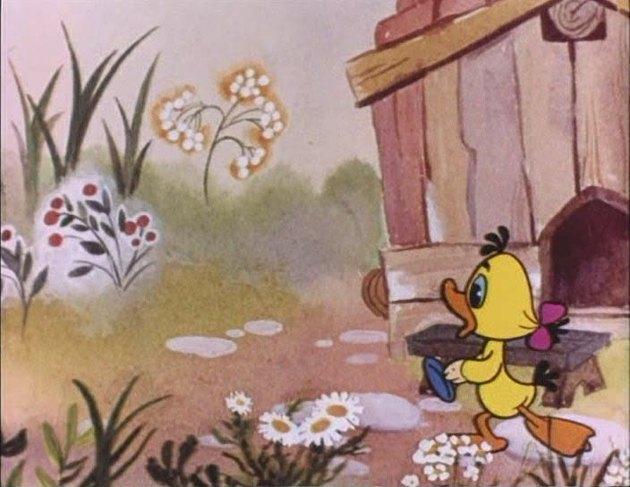 Кадр из мультфильма про дудочку и